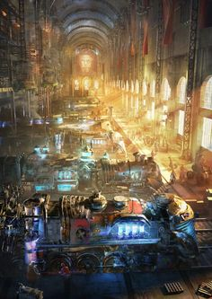 Composing of a Steampunk World in Blender | CG Tutorials library