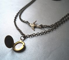 P.S. i Adore You - Product  Not typically one for necklaces but this is too cool!