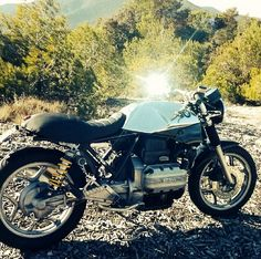 BMW caferacer K-Series by @Ricardp9