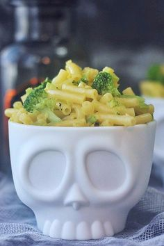 These Trendy Skull Bowls Can Turn Any Innocent Snack Into Gruesome Grub