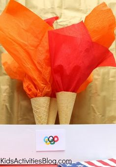 The Olympics for Children: Edible Olympic Torches
