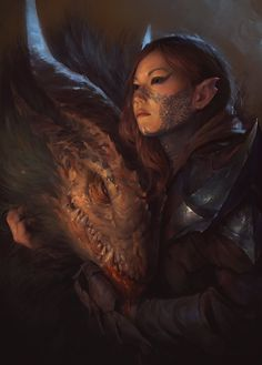 What do you think of the bond between dragons and humans in fantasy? ▬ ▬ ▬ ▬ ▬ ▬ ▬ ▬ ▬ ▬ ▬⠀ 🗡️ Like this post to see more! Fantasy Artwork, 3d Fantasy, Fantasy Dragon, Dragon Art, Fantasy World, Dark Fantasy, Pet Dragon, Magical Creatures, Fantasy Creatures