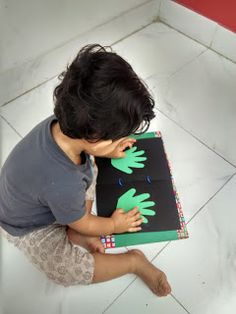 DIY Touch and Feel Book for Toddlers