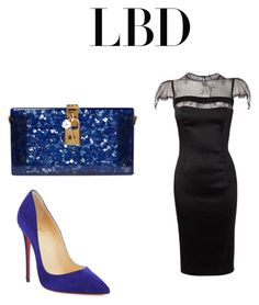 """""""Untitled #116"""" by wallan on Polyvore featuring Nicole Coste, Dolce&Gabbana and Christian Louboutin"""