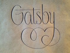 The Great Gatsby | An inspired drawing