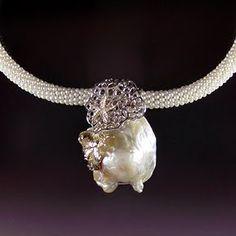 Dawn Vertrees: Baroque Pearl Pendant