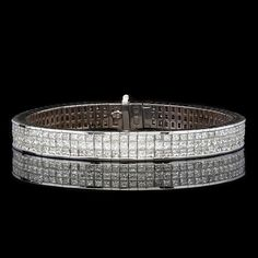 25.5ct tw Diamond 18Kt Bracelet - Jewelry from 66mint.com
