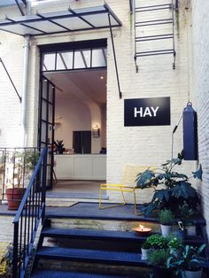 Visited the HAY shop in Antwerp thobenminten.nl #shop #entrance