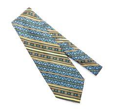 Mens Multi Color Groovy Tie Dye Retro Necktie Tie Neckwear