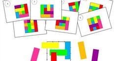 Après Les triangles , voici Les rectangles, un nouveau jeu de repérage spatial à réaliser en autonomie. Il est composé d'un car...