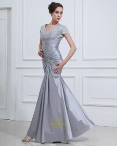Long Elegant Prom Dresses with Sleeves 2014 for Thick Girls