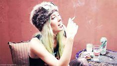 Chloé Norgaard Model Color Hair Wonderful