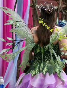 How to Make a Fairy Costume - Stitch Rippers - Tearing up Style - DIY Fashion