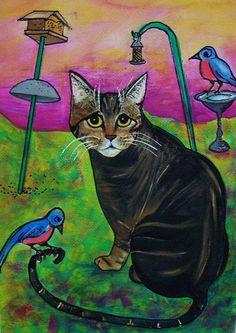 Uncle Berio, Watercolor Gouache, Jane Pompilio George