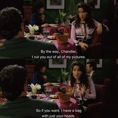 Friends Valentines Day, Valentines Day Funny, Friends Moments, Friends Forever, Janice Friends, Friends Season 1 Episodes, Hes Her Lobster, Tv Memes, Friend Memes