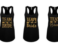 Team Bride Vneck. Team Bride Tshirt. team Bride Shirt. Team Bride Tank. Team Bride-Shirts. Bridal-Party-Shirts Bridesmaids Gift by paolabrownshop. Explore more products on http://paolabrownshop.etsy.com