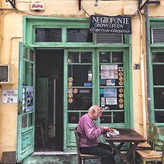 LADADIKA THESSALONIKI @itsgregory_ Bar Interior Design, Cafe Interior, Interior Design Inspiration, Cafe Shop, Cafe Bar, Brewery Decor, Coffee Shop Bar, Southern Europe, Shop Fronts