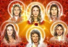 Mestra Ascensa Nada, Chohan do 6º raio, Jesus e a Grande Ordem dos Mestres Ascensos, - Arcanjo Uriel e sua amada chama gêmea Aurora.