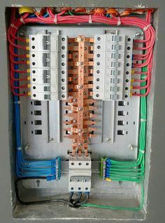 Now that\'s one neat electrical panel... | Pinterest | Cable ...