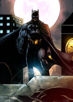 BATMAN by Erico Calimlim. Colors by Bryan Arfel Magnaye