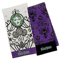 The Haunted Mansion Dish Towel Set | The Haunted Mansion Collection | Disney Store