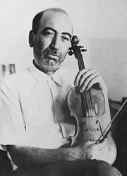 He died in 1957 and was buried in Tehran's Zahir o-dowleh Cemetery of artists and musicians.