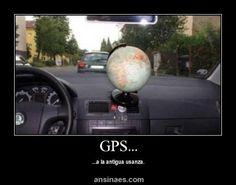 Memes Chistosos - GPS a la vieja escuela