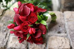 Shipped Fresh Bridal Bouquet and Boutonniere by WhimsicalFloral, $350.00
