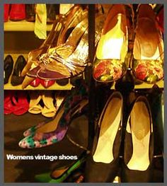 The Family Jewels Vintage Clothing familyjewelsnyc.com #shoes