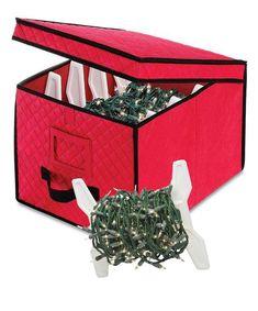 WHITMOR Whitmor Gift Wrap and Ornament Storage Box  Storage