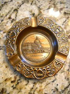 U.S. Capital Washington DC Metal Vintage Ashtray Excellent Never Used Made USA | eBay