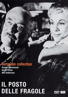 Victor Sjöström appearing in old age, as a favour to the director Ingmar Bergman. Wild Strawberries.