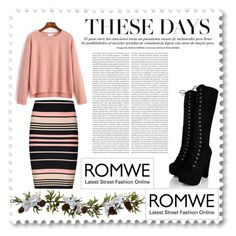 """Romwe contest"" by nikolija-cclix ❤ liked on Polyvore featuring Nearly Natural, Miss Selfridge and Oris"