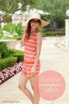 Summer romper diy