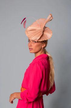 Wedding Guest Style, Elegant, Hats, Collections, Fashion, Bridal Headpieces, Wedding Guest Fashion, Hot Pink, Silk