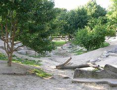 Mundenhof playground, Frieburg, Germany by timrgill, via Flickr