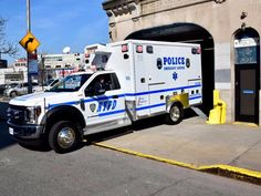 New York, New York City Police Department, Emergency Services vehicle. Old Police Cars, Police Truck, Police Vehicles, Emergency Vehicles, Old Trucks, Fire Trucks, New York Police, Emergency Response, Fire Apparatus