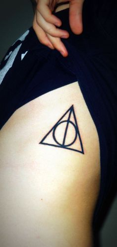 Deathly Hallows tattoo!