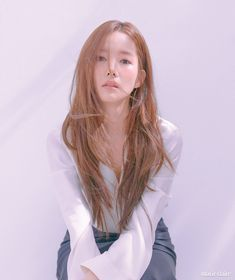 Park Min Young - Marie Claire Magazine May Issue Korean Actresses, Korean Actors, Actors & Actresses, Korean Celebrities, Celebs, Blonde Asian, Prity Girl, Jimin, Park Min Young