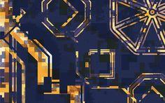 Details for Korobeiniki model #SlashCode #Geek #Chic #Fashion #Accessories #Scarves #Tetris #Yellow www.facebook.com/SlashCodepage  www.instagram.com/slash_code/  www.twitter.com/slash_code