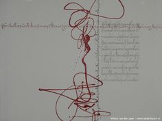 Calligraphy: Free work »Letter Art