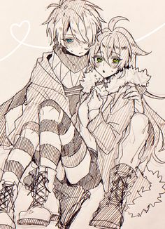 Anime Couples Manga, Anime Guys, Anime Boy Sketch, The Wolf Game, Character Art, Character Design, Yandere Anime, Cute Art Styles, Cool Drawings