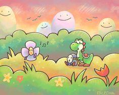rainbow meadows by *Paleona on deviantART