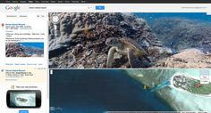 Google Maps' virtual diving brings the Great Barrier Reef into view. Getting a baseline record of the world's coral reefs and how they are being affected by climate change.