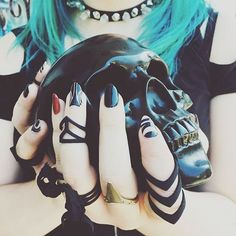 Creepin' it cool in R+W! 👽♥💀 #Goth up your look at //SHOP:therogueandthewolf.com  Gorg 📷 by @fetishasburypark ✅🔱
