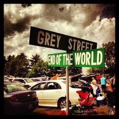 the corner of grey street and the end of the world......  .
