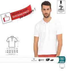 URID Merchandise -   POLO MUKUAT KEY BRANCO   4.64 http://uridmerchandise.com/loja/polo-mukuat-key-branco/ Visite produto em http://uridmerchandise.com/loja/polo-mukuat-key-branco/