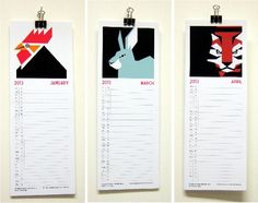 FREE downloadable Mibo calendar with illustrations of the animals of the Chinese zodiac by artist Sean Hennessy.