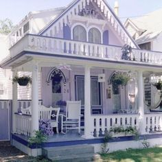 Lovely Lavender Cottage & Porch | Home Sweet Home