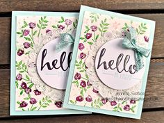 Sootywing Studios: Hello!, Stampin' Up!, Occasions 2016, Sale-a-Bration 2016